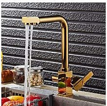 Polished and Pure Gold Blender Kitchen Water