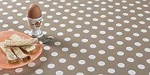 Polka Dots & Spots Wipe Clean PVC Vinyl Tablecloth