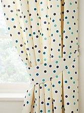 Polly Polka Curtain Tie Back Pair