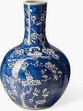 pols potten Blossom Vase, H36cm, Blue