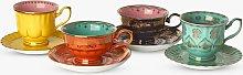 pols potten Grandpa Cup and Saucer Tea Set, Set of