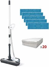 Polti Moppy Premium White Floor Cleaner with