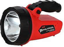 Poly Pool LED Portable Battery Flashlight with