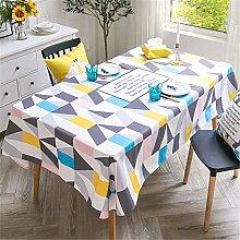 Polyester Rectangular Home Hotel Restaurant Table