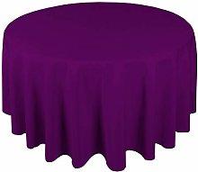 Polyester Tablecloth 48'' Home Decor