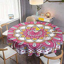 Polyester Waterproof Round Table Cloth, Household,
