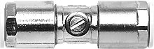 Polyfit Push Fit Isolator Valve 15mm - Chrome