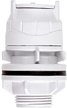 PolyFit White 15mm x 1/2' Tank Connector
