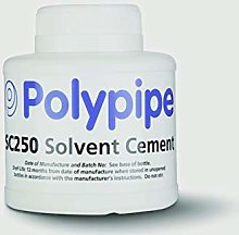 Polypipe Wet and Dry Solvent Cement 240ml SC250