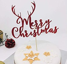 Pomchick PCTMCANT Merry Reindeer Antler, Cake Red