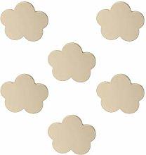 Pomoline A562-1 Knobs Knob Cabinet Baby Cloud