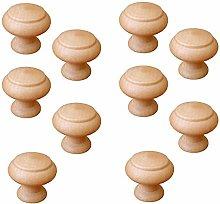 Pomoline PART-A523-7 Furniture Knob, Natural Beech