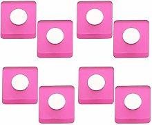Pomoline PART-A741-4 Furniture Knob, Magenta Pink