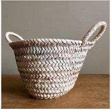 Pompon Bazar - Wicker Basket Large Format