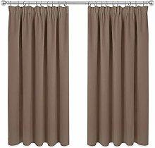 PONY DANCE Bedroom Blackout Curtains - 54 Drop