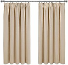 PONY DANCE Bedroom Window Curtains - Short Pencil