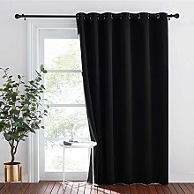 PONY DANCE Black Curtain for Thermal - Eyelet
