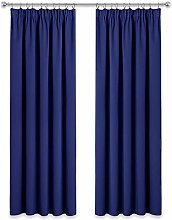 PONY DANCE Blackout Curtain Drapes - Thermal