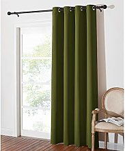 PONY DANCE Blackout Curtain for Bedroom - Eyelet