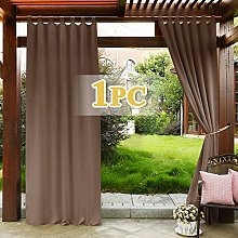 PONY DANCE Blackout Curtain for Patio - Outdoor