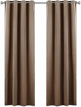 PONY DANCE Blackout Curtains Eyelet - 84 inch