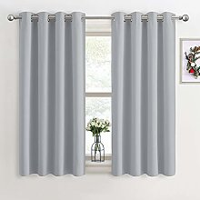 PONY DANCE Blackout Curtains for Bedroom - Eyelet
