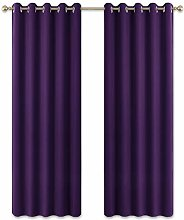 PONY DANCE Blackout Window Curtains - Thermal