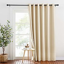 PONY DANCE Curtain Drape for Bedroom - Thermal