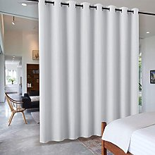 PONY DANCE Eyelet Curtain for Bedroom - Thermal