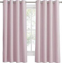 PONY DANCE Eyelet Curtain for Girls - W 52 x L 63