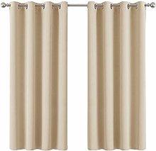 PONY DANCE Eyelet Curtain Panels - Super Bedroom