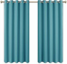 PONY DANCE Eyelet Kids Curtains - Bedroom Curtain