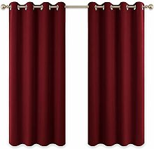 PONY DANCE Eyelet Thermal Curtains - 54 Drop