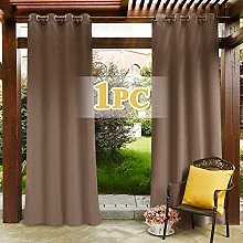 PONY DANCE Outdoor Curtain for Gazebo - Rust Proof