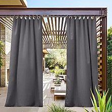 PONY DANCE Outdoor Curtain for Patio - Gazebo