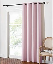 PONY DANCE Pink Curtain Draperies - Nursery Window