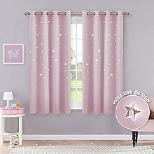 PONY DANCE Pink Curtain for Girls - Bedroom