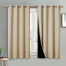 PONY DANCE Thermal Blackout Curtains - Complete