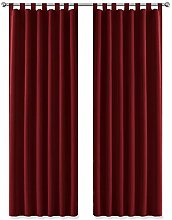 PONY DANCE Thermal Blackout Curtains - Window