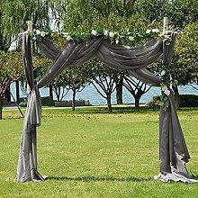 PONY DANCE Voile Scarf Curtain - Decorative Window
