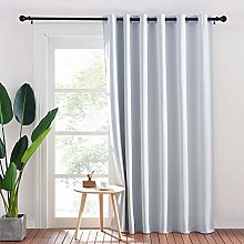 PONY DANCE White Curtain with Eyelets - Room