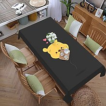 Pooh Cartoon Bear 59 Inches X 107.9 Inches Color