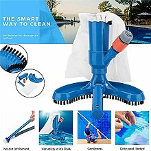 Pool Cleaning Kit, Portable Pool Vacuum Brush