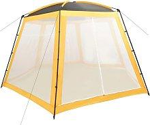 Pool Tent Fabric 500x433x250 cm Yellow - Vidaxl