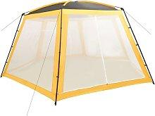 Pool Tent Fabric 660x580x250 cm Yellow - Vidaxl