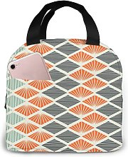 Pop Art Style Retro93 Portable Insulated Lunch