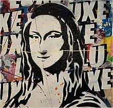 Pop Graffiti Art Leonardo da Vinci Mona Lisa