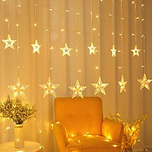 POP Mart Star Curtain Lights 138 LED 12 Star