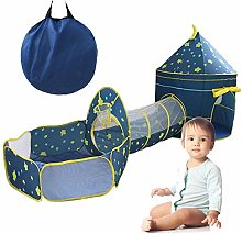 Pop Up 3 in 1 Game Tent - Kids Pop Up Play Tents
