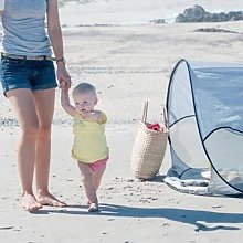 Pop-up Beach Tent with Mosquito Net 120x90x80 cm